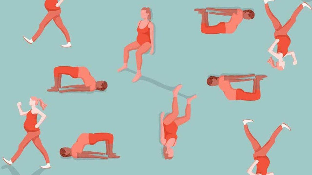 孕妇如何安全的做有氧运动和肌肉训练!Moms need to be strong