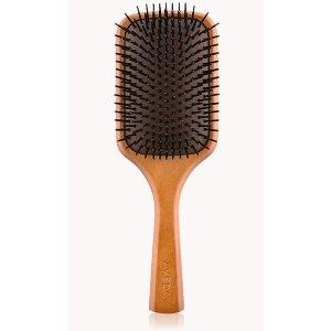 Avedawooden paddle brush |