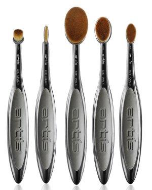 Artis Elite Smoke 5 Makeup Brush Set | Neiman Marcus