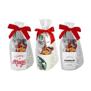 Starbucks咖啡+饼干+杯子 礼盒