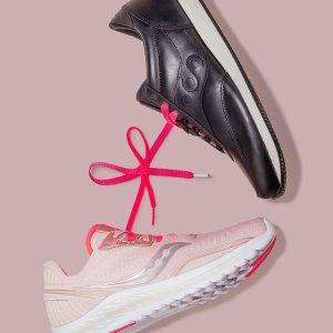 低至6折+额外8折+免邮Saucony官网 美式复古功能运动跑鞋好价促销