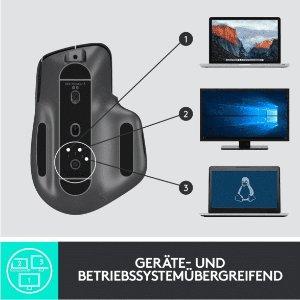 Logitech 罗技 MX Master 3 蓝牙/优联 无线鼠标 近期低价刚需入
