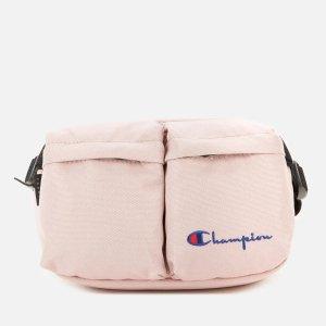 樱花粉单肩包