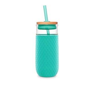 $7.22闪购:Ello 玻璃随行杯 带吸管 20oz