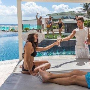 双人$226/晚  住宿餐饮娱乐全包坎昆4星级 Sandos Cancun 全包度假村