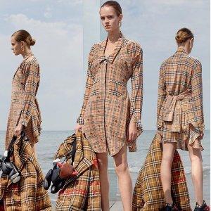独家7折 樱花粉卡包$280入Burberry 英伦风格子美衣、围巾、美包热卖