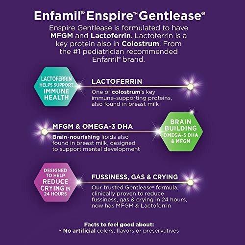 Enspire Gentlease 防胀气婴儿奶粉 20 盎司*4
