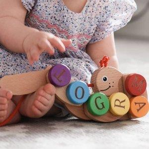 折扣区9折My 1st Years 婴儿玩具用品网站热促 乔治小王子穿它家睡袍