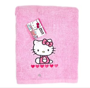 Adorable Hello Kitty Bath Towel