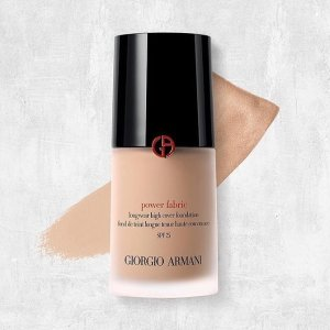 Last Day: Dealmoon Exclusive Early Access! Enjoy 15% offPOWER FABRIC FOUNDATION@ Giorgio Armani Beauty