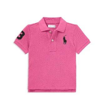 低至4.2折+ 额外7.5折Polo Ralph Lauren 儿童服饰促销 polo衫价格超好