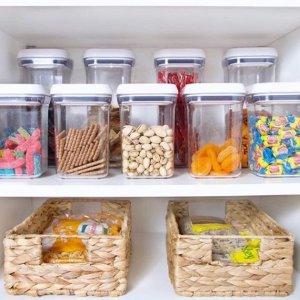 5折起 €15收置物架Amazon 厨房用具精选 收纳盒、调料罐、小工具等热促