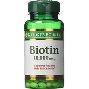 $5.39(原价$8.85)Nature's Bounty 维生素H 10000mcg 120 颗