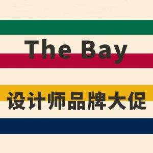 低至3折+额外8.5折The Bay 设计师品牌大促 袁珊珊同款露肩上衣$265
