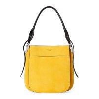Prada Sunny Yellow Margit 麂皮手提包