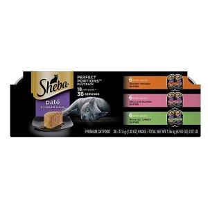Sheba 混合口味猫湿粮罐头 18盒双享包 相当于36盒
