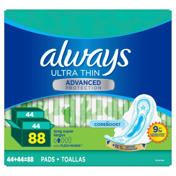 加长卫生巾 88片