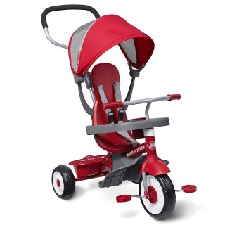 $65.99Radio Flyer 4-合-1 儿童玩具骑行三轮车