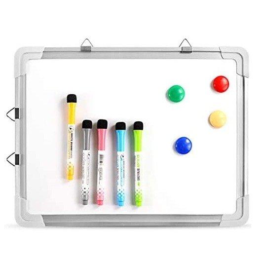 """ZNCMRR 可擦白板+笔+磁石套装 16 X 12""""居家办公学习必备"""
