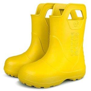 OutdoorMaster Kids Toddler Rain Boots