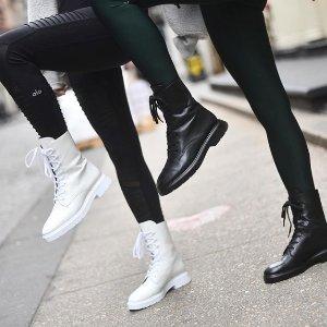 4折起+再7折 过膝靴$350延长一天:SW 折扣区特卖 封面白色工装靴$263(原价$750) 补货