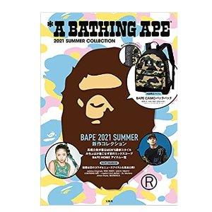 $25.16 直邮美国A BATHING APE 2021 夏季特别附录 迷彩后背包