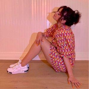 Puma 折扣专场 Selena同款 Cali Bold 金尾小白鞋 码数全