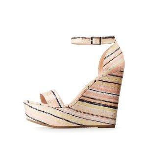 Charlotte Russe女士高跟鞋