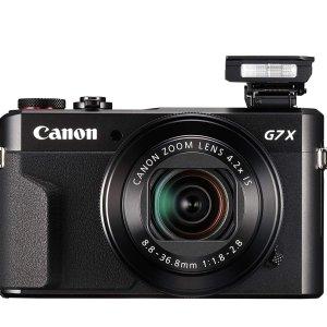 $643.18(原价$899.99)Canon G7 X Mark II  欧阳娜娜同款网红Vlog相机