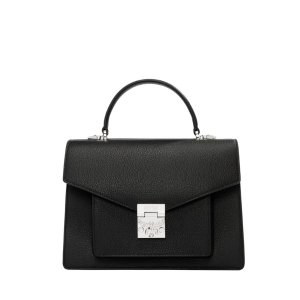 MCMPatricia Pocket Satchel in Grained Leather