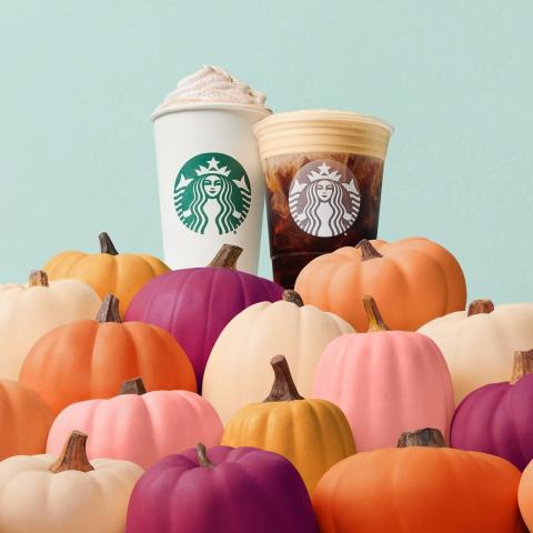 w/ Other Delicious Fall DrinksStarbucks Fall Favorite Pumpkin Spice Latte is Back