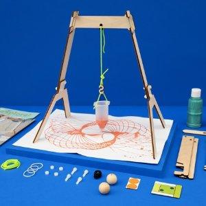Kiwico 多款儿童手工制作盒子优惠 封面钟摆效应画图机$18.95