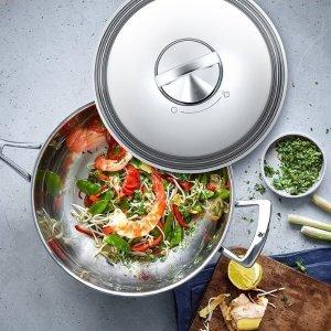 28cm平底煎锅仅€28 原价€79.9WMF 厨具折扣合集 低至4.2折 限时可叠加9折