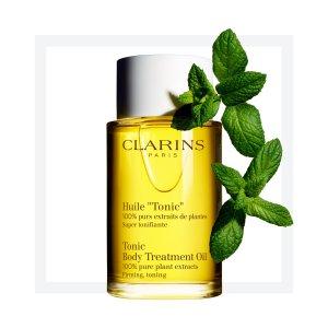 Clarins身体油