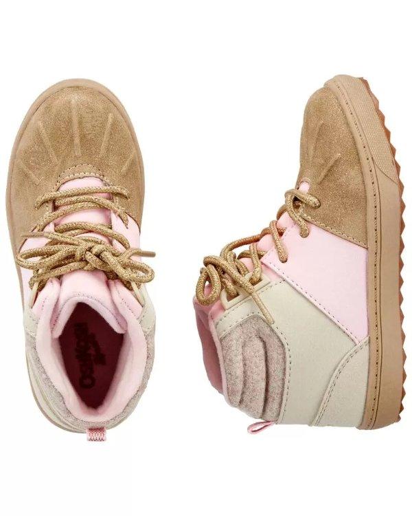 小童高帮靴