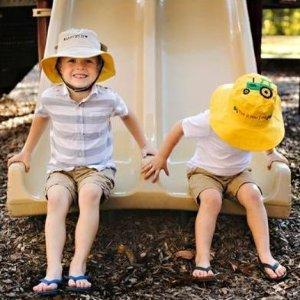 $10 (原价$19.95)Flap Jacks 卡通儿童遮阳帽 正反两面可用