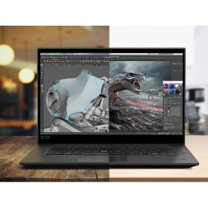 P系列5折可定制,P53 VPro低至$1064折扣升级:ThinkPad P1 Gen 2 移动工作站 (i7-9750H, T2000, 16GB, 512GB)