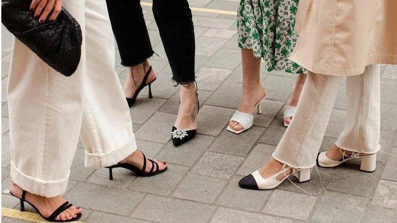 买鞋最全指南   脚胖/脚瘦/脚背高/没有脚后跟该买什么鞋?方头、圆头、杏仁头、扁平跟、细高跟……