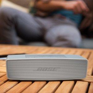 折后€104 原价€149Bose SoundLink Mini 无线蓝牙音箱 10小时续航 语音连接蓝牙