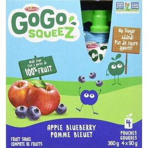 add-on产品苹果蓝莓口味4 X 90g