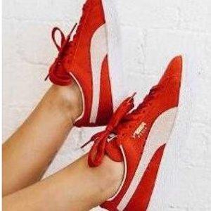 $26.99包邮最后一天:PUMA 经典麂皮小红鞋