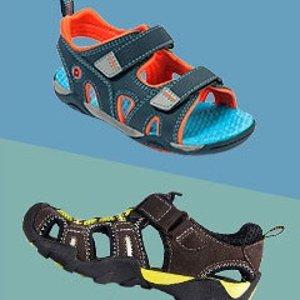 难得包邮 全部$29.99以下即将截止:pediped OUTLET 儿童凉鞋低至4折一日闪购,入可机洗款