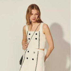5折起 £109收小香风裙子Sandro官网 仙女裙清仓价 优雅小香风、小碎花裙参与