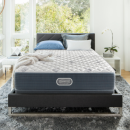 $499 Simmons Beautyrest Silver Lydia Manor III Extra Firm Mattress