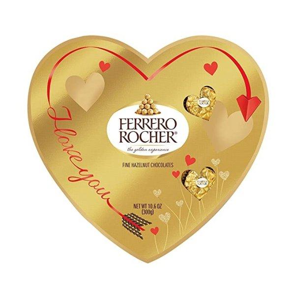 榛子牛奶巧克力 情人节爱心礼盒 24粒
