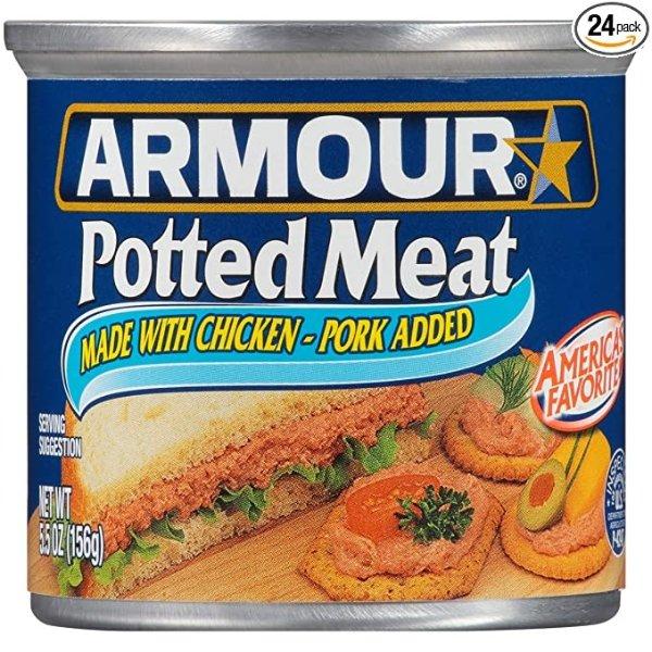 猪肉泥 5.5 oz. 24罐
