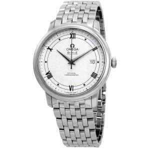OmegaDe Ville Automatic Silvery White Dial Men's Watch
