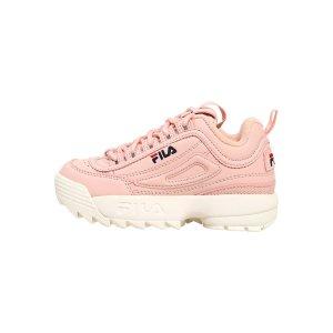 Fila最大35码 小脚妹子可穿DISRUPTO 粉色老爹鞋