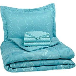 5件套蓝色床上用品