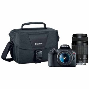 Canon T7 w/ 18-55mm + 75-300mm Lens